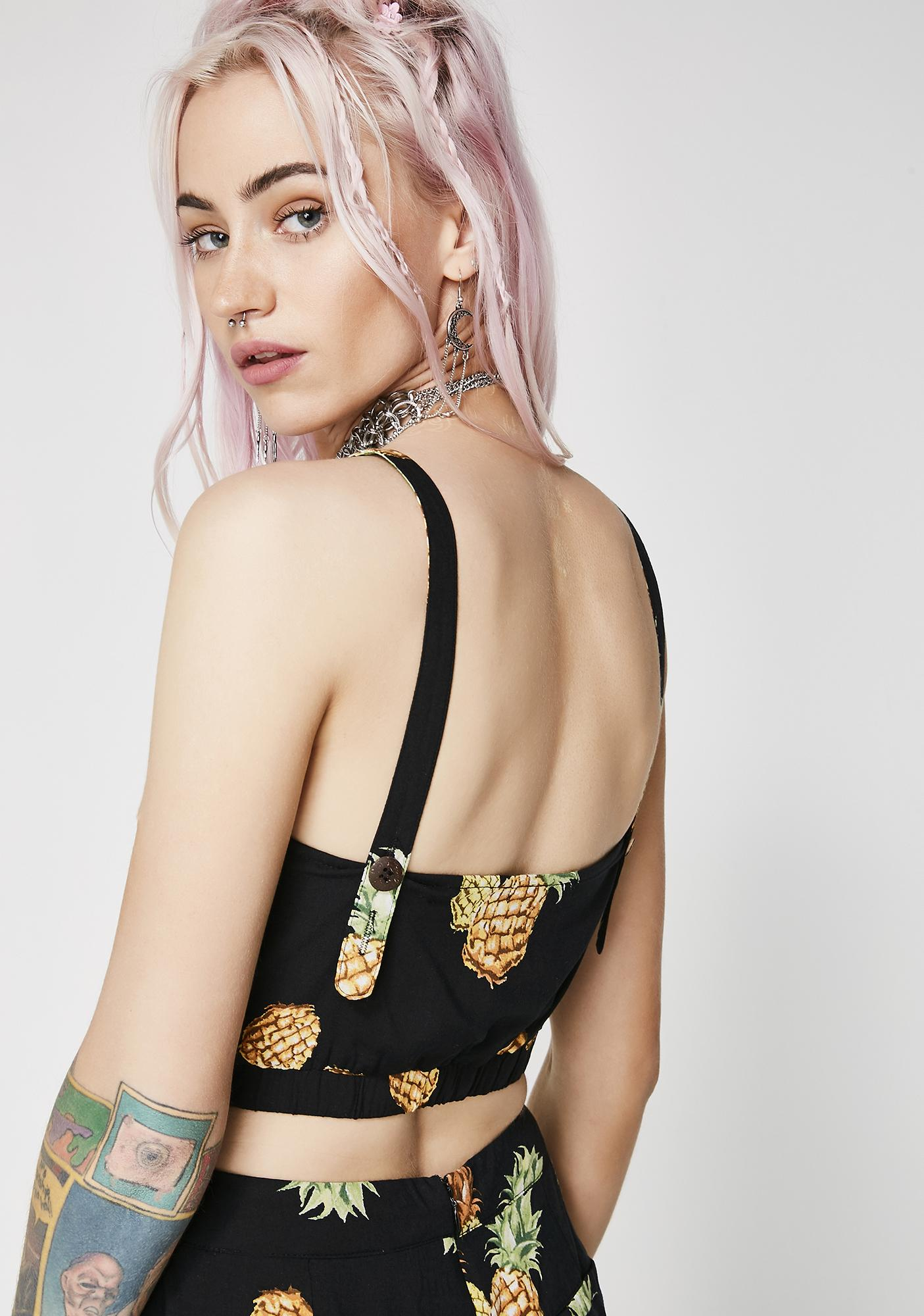 Spikey Sweet Crop Top