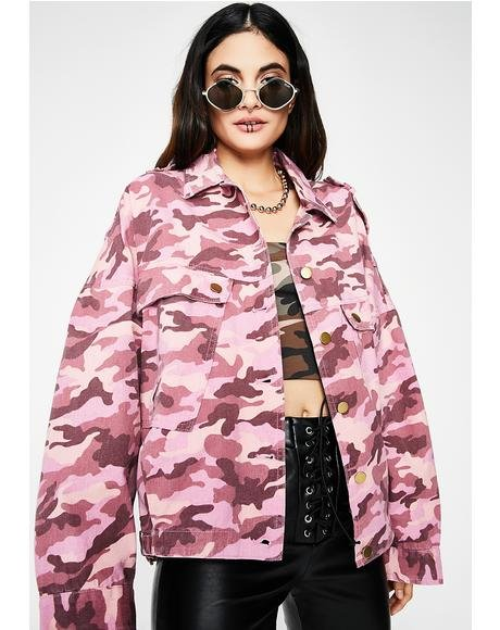 Heads Up Camo Jacket