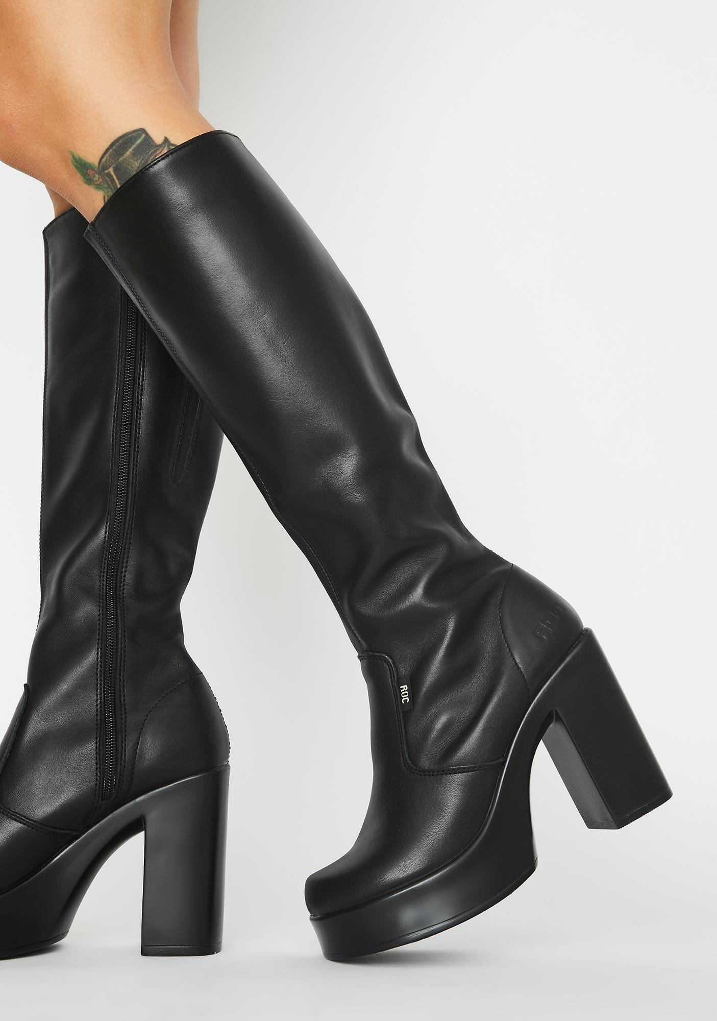 Nebraska Knee High Boots by Roc Boots Australia