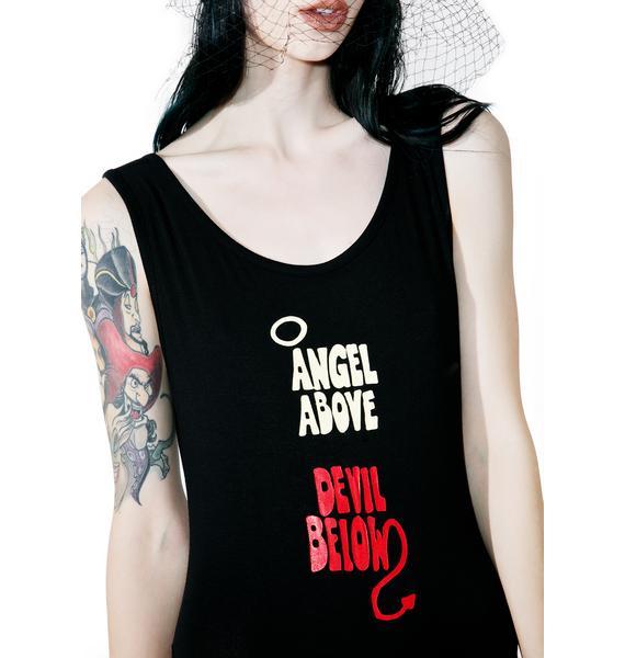O Mighty Angel Above Devil Below Bodysuit