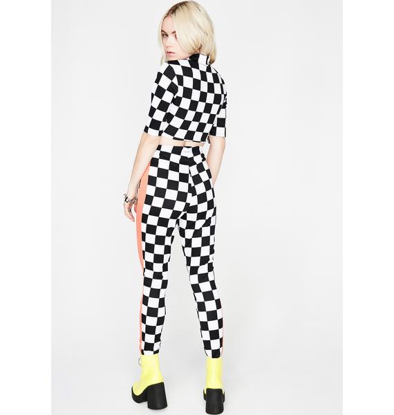 Changin' Lanes Checkered Set