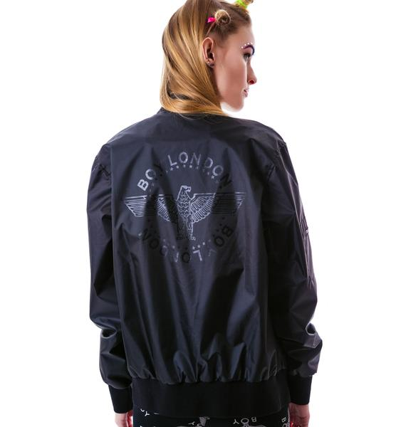 BOY London Eagle Emblem Racer Jacket