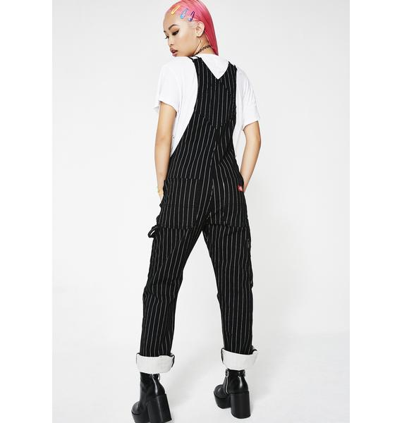 a824d9177c47 ... Dickies Girl Pinstripe Overalls ...