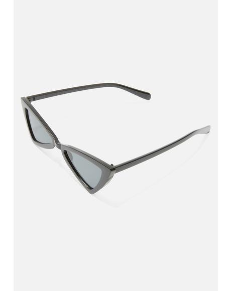 End Scene Triangle Sunglasses