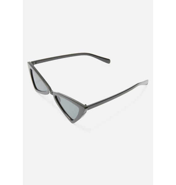 End Scene Triangle Sunglasses