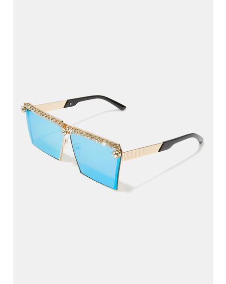Bling The Alarm Sunglasses