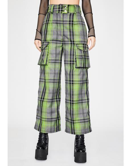 Anna Tartan Trousers