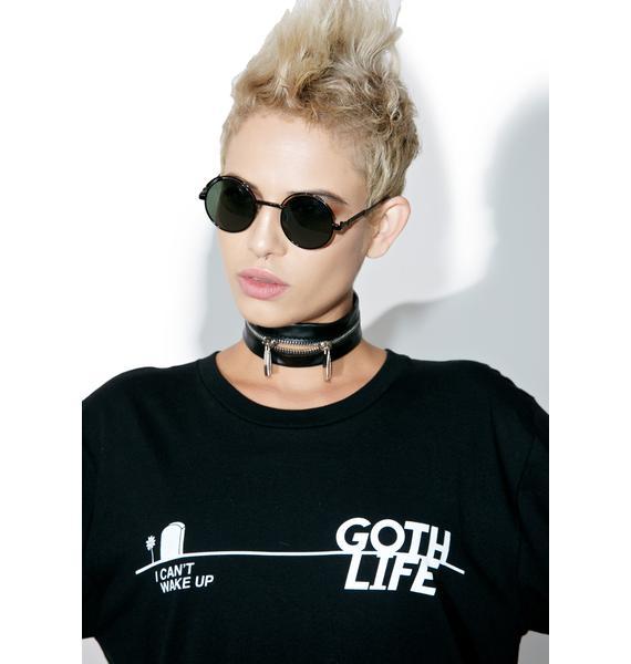 ABVHVN Goth Life Long Sleeve Tee