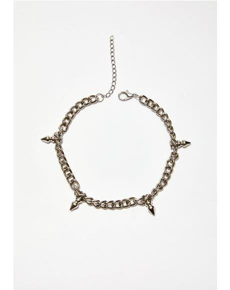 Stay Bad Spike Choker