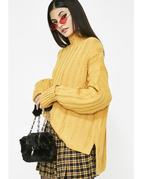 Night Class Turtleneck Sweater