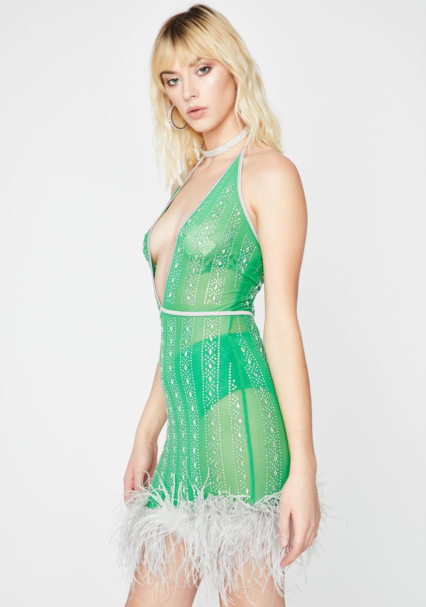 Envy Sweet Surrender Rhinestone Dress