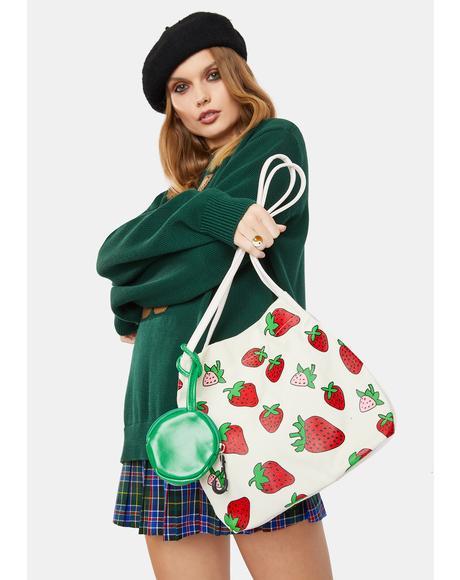 Berry Cutie Shoulder Bag