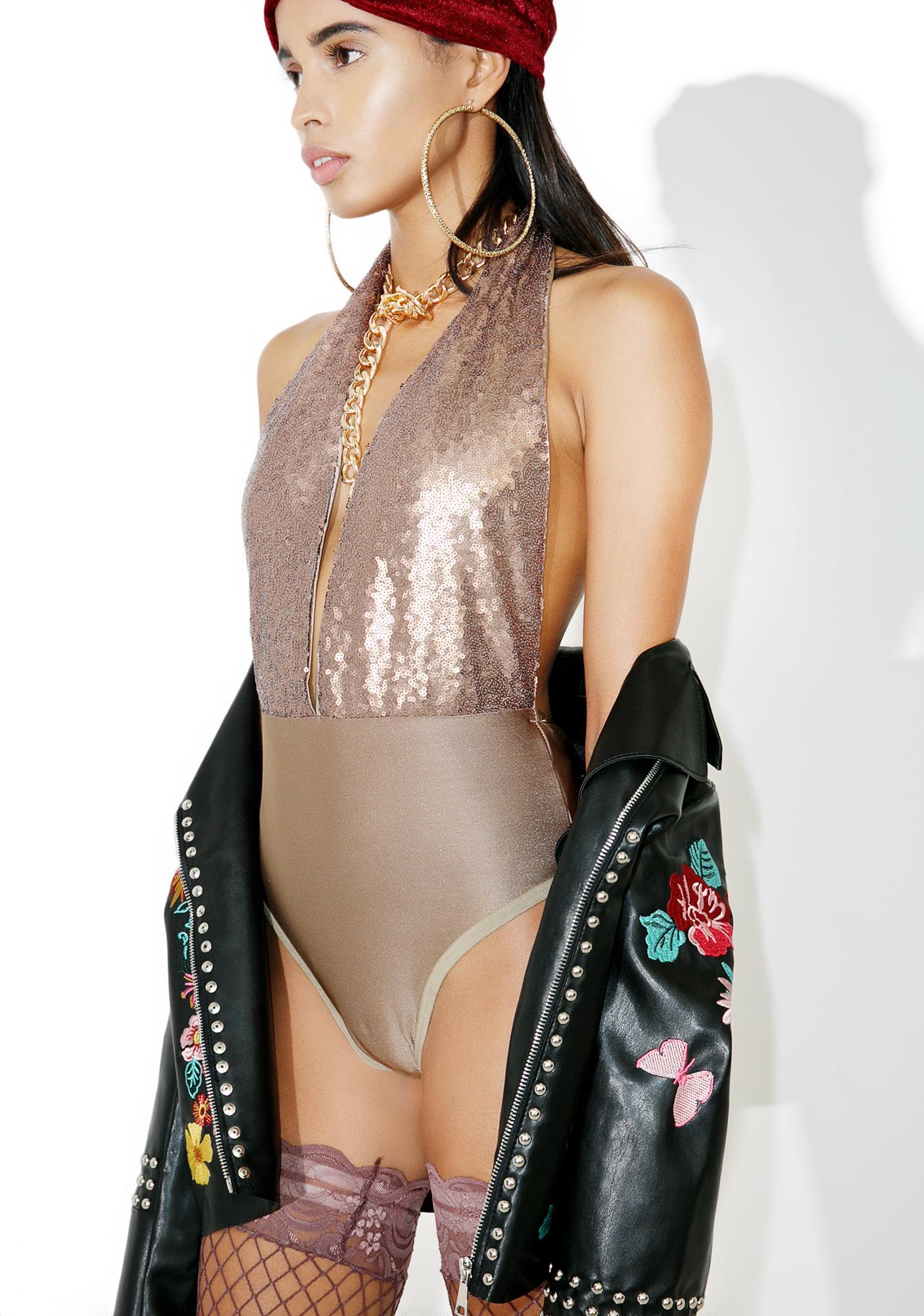 Glamorous Glimmer Time Bodysuit