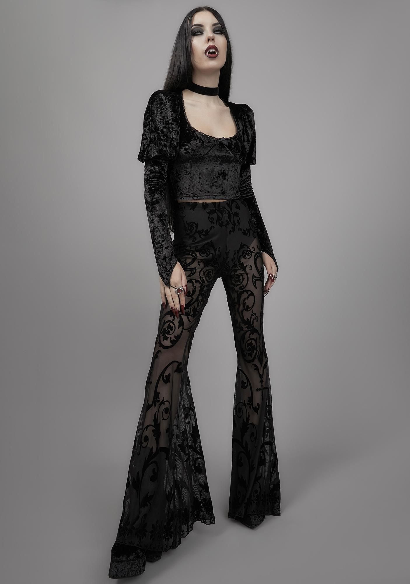 Widow Midnight's Embrace Mesh Flares