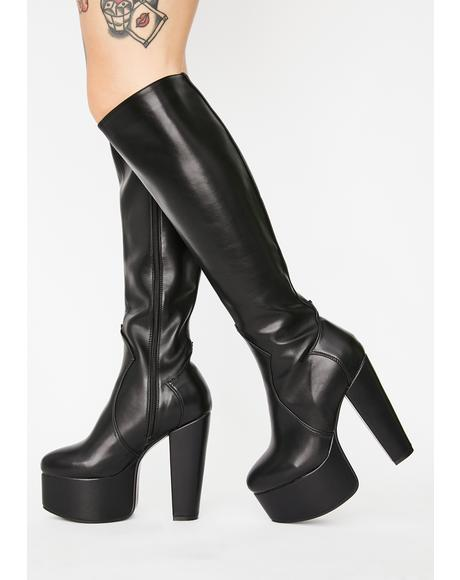Loved Up Platform Boots