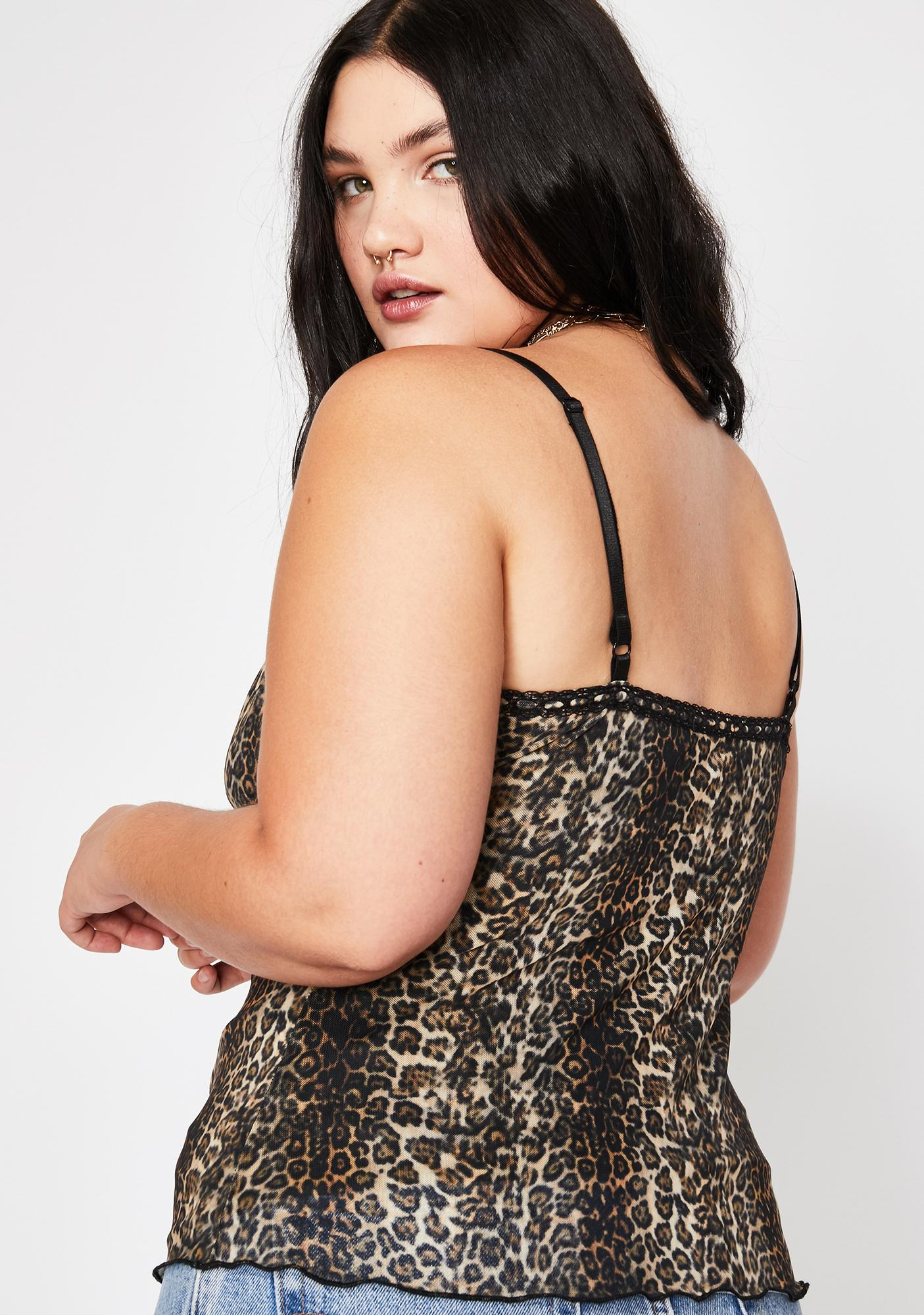 Current Mood These Cat Eyez On You Leopard Cami