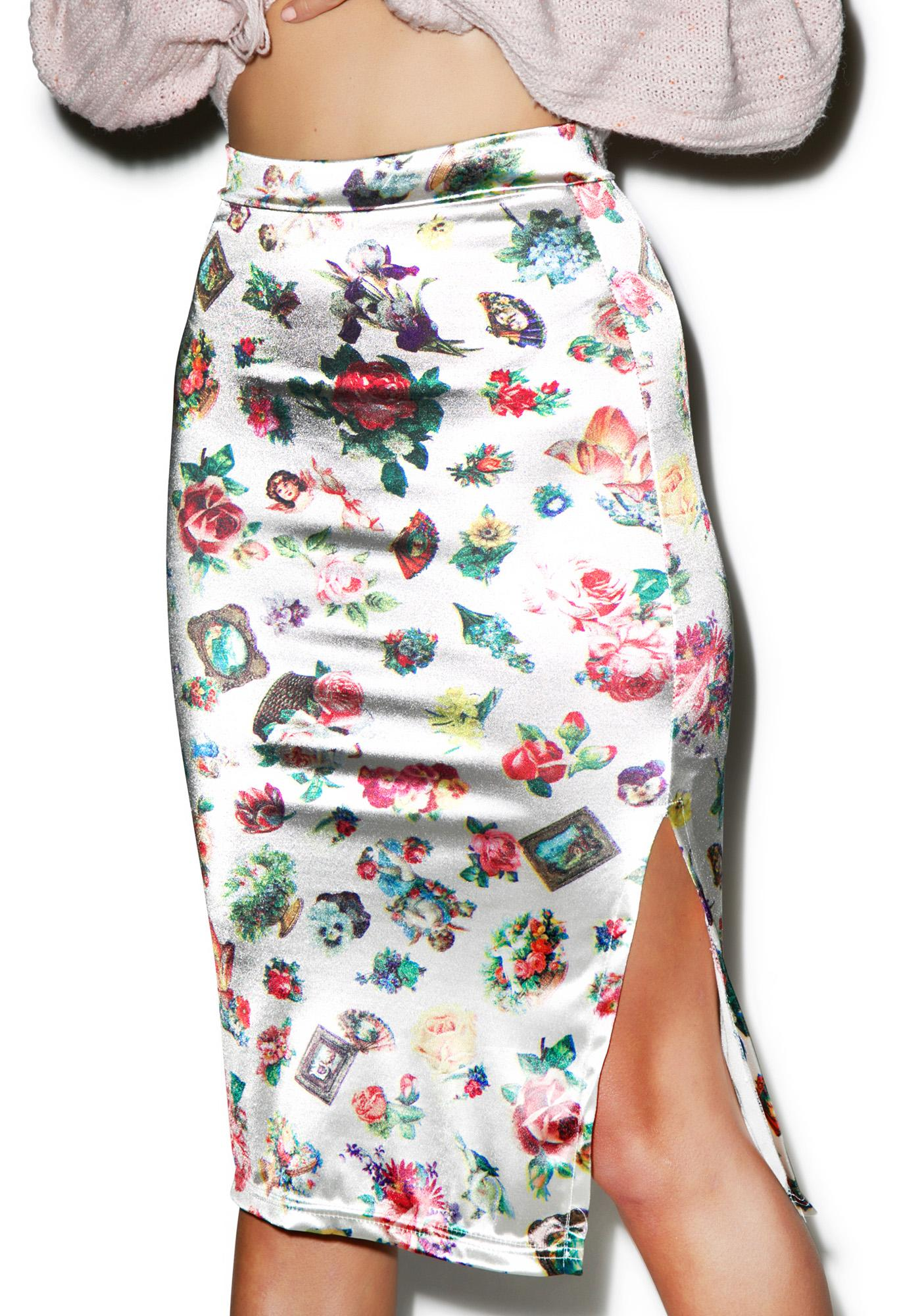 Saints & Sinners Pencil Skirt