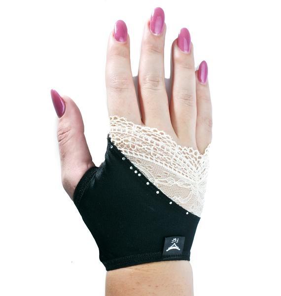 Golden Touch Fingerless Gloves