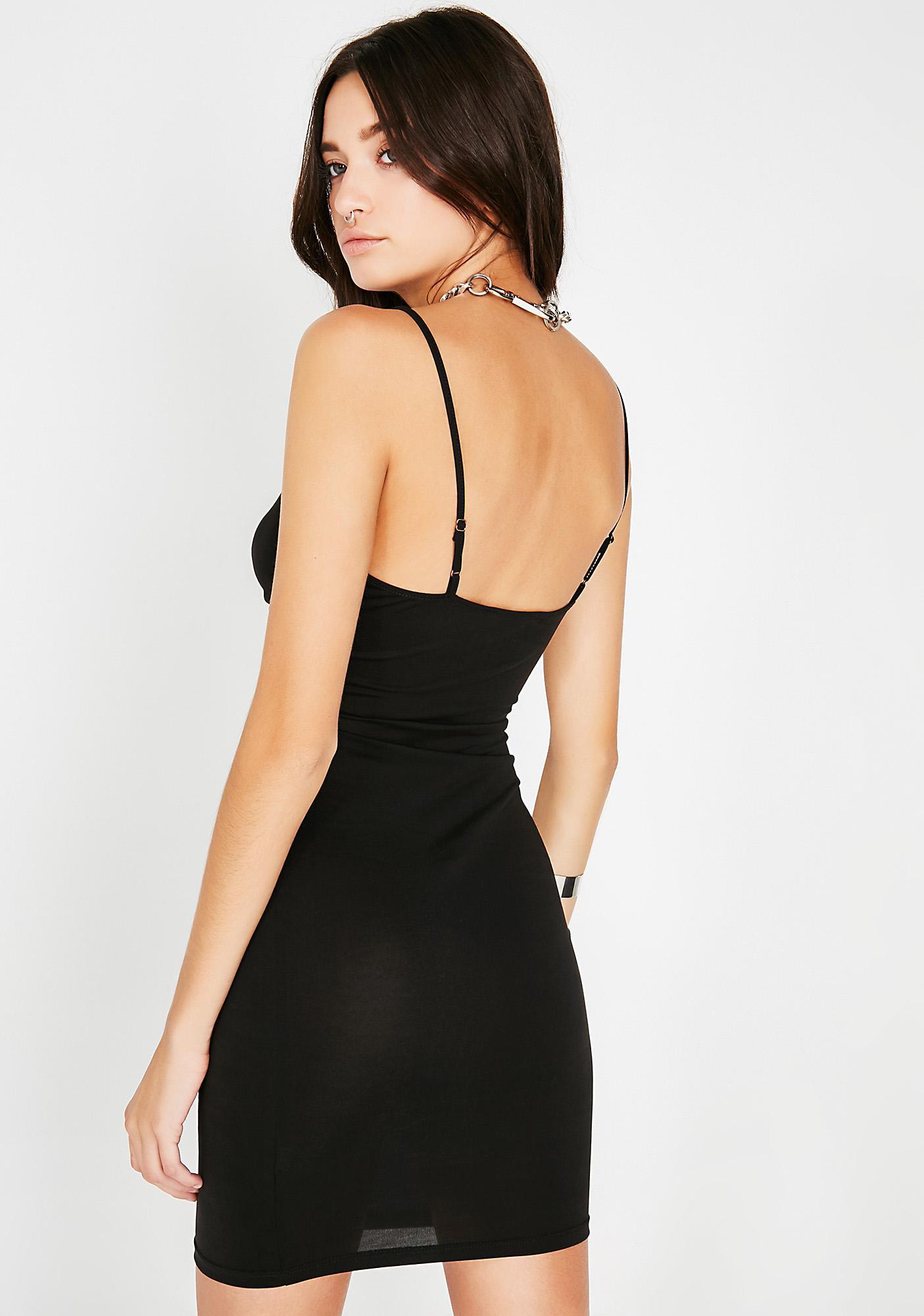 Night Untold Secrets Cut-Out Dress