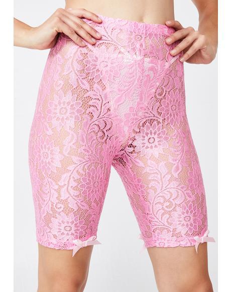 Twinkle Tease Biker Shorts