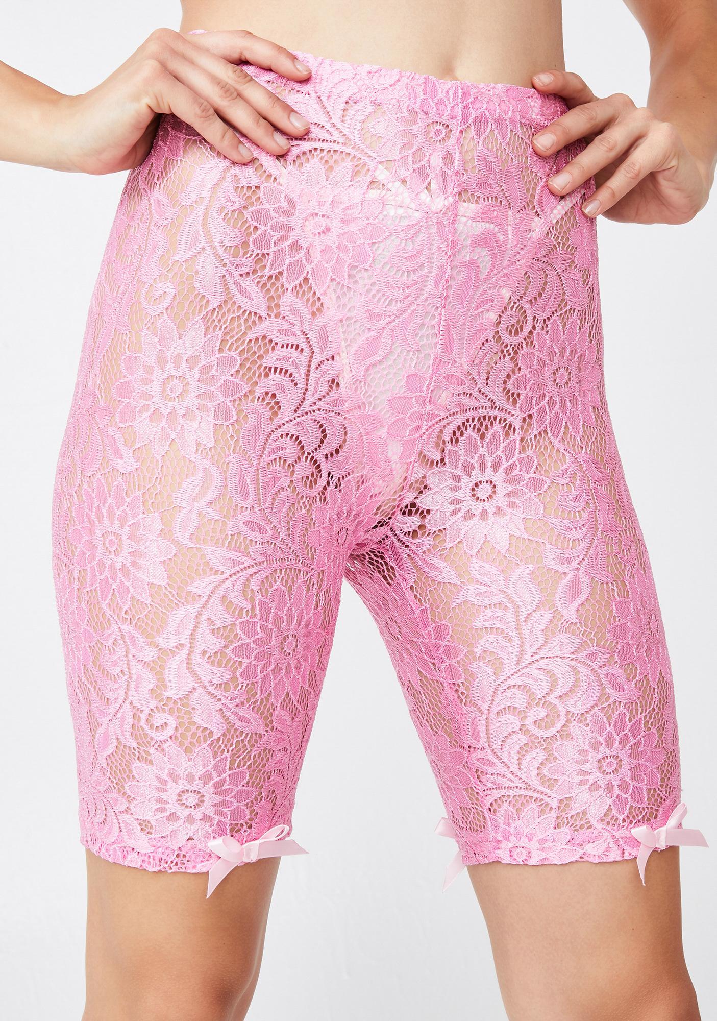 Sugar Thrillz Twinkle Tease Biker Shorts