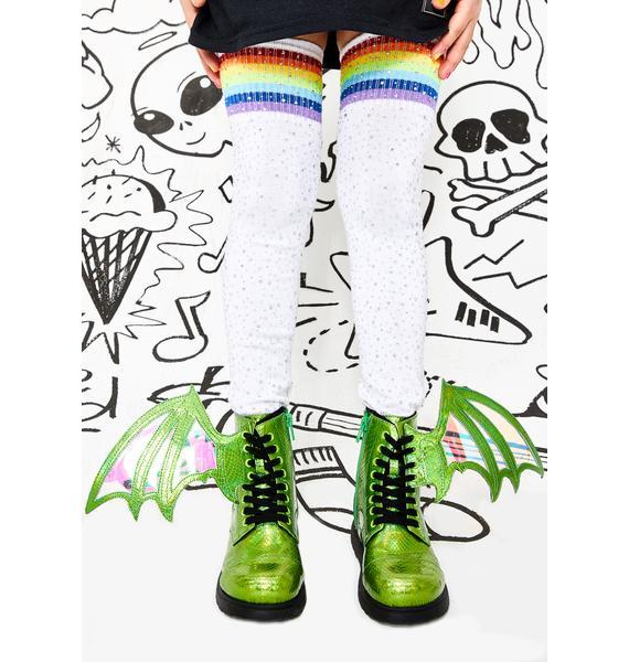 Current Mood Kids Pet Dragon Combat Boots