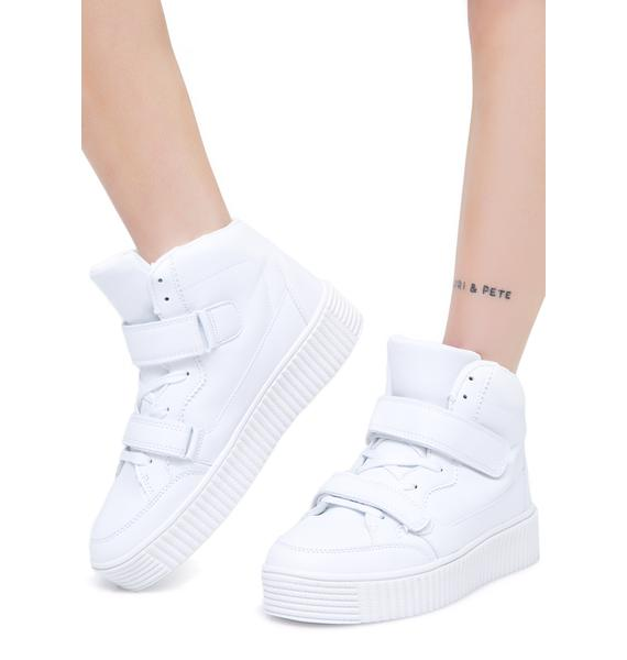 Steppin' Up Platform Sneakers