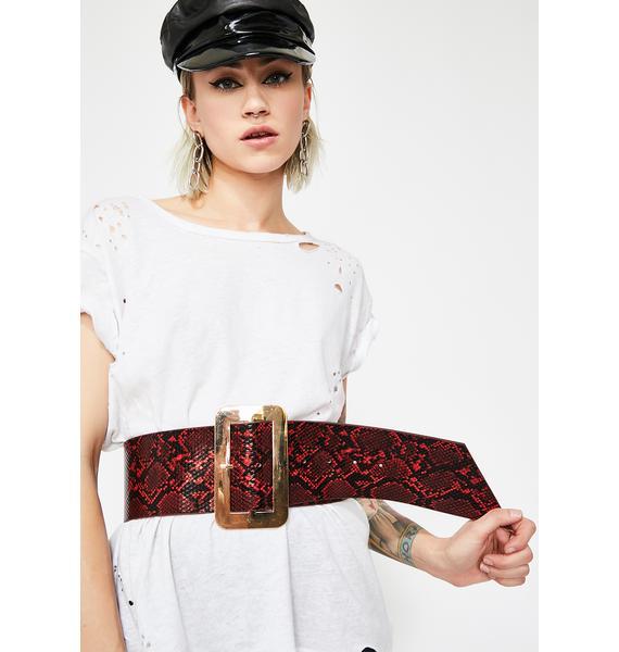 On The Rise Waist Belt