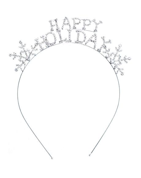 Happy Holidays Sparkle Headband