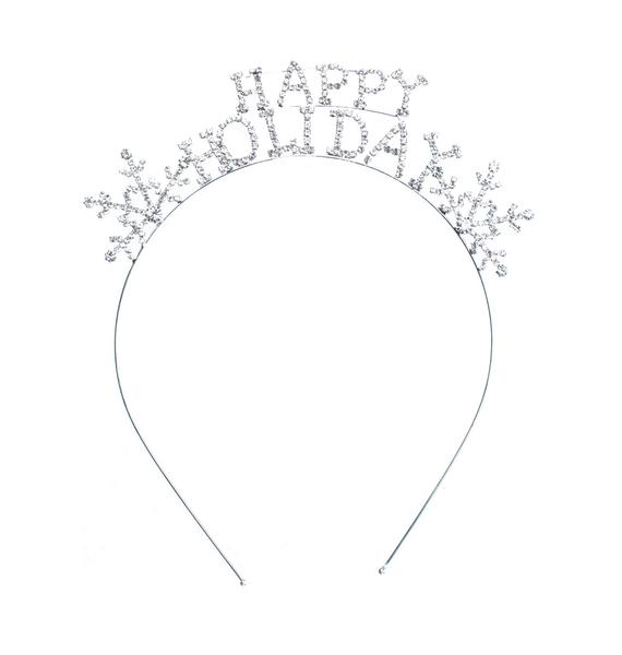 Happy Holidays Sparkle Headband