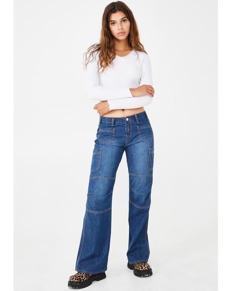Skippin' Skool Bootcut Jeans
