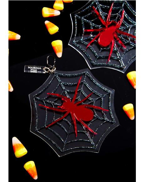 Cobweb Earrings
