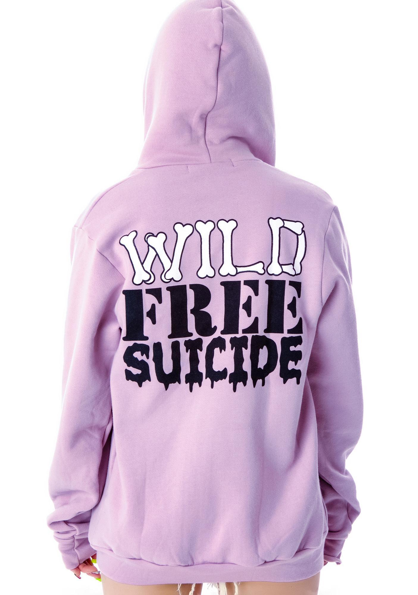 High Heels Suicide Wild Free Suicide Hoodie