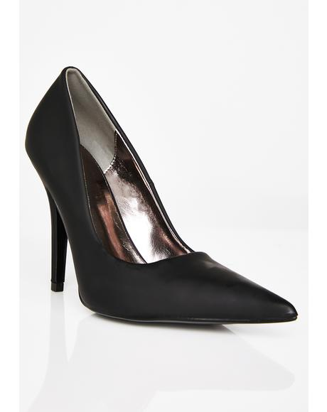 Boss Status Stiletto Pumps