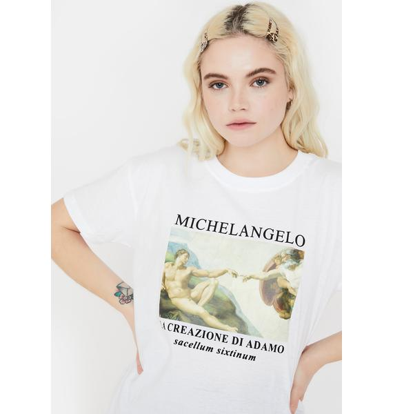 Minga Michelangelo Oversized Tee