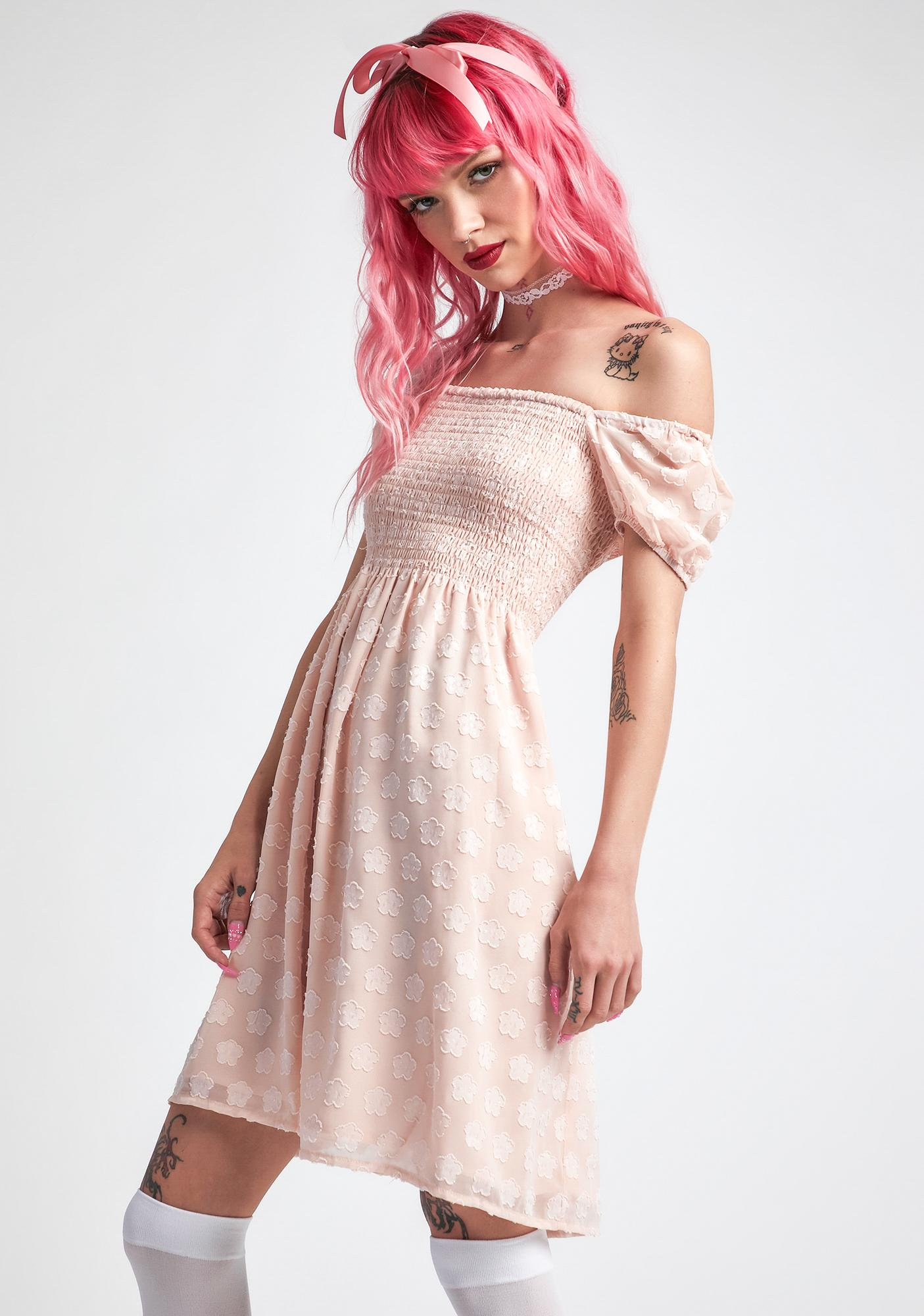 dELiA*s by Dolls Kill Hello To Heaven Babydoll Dress
