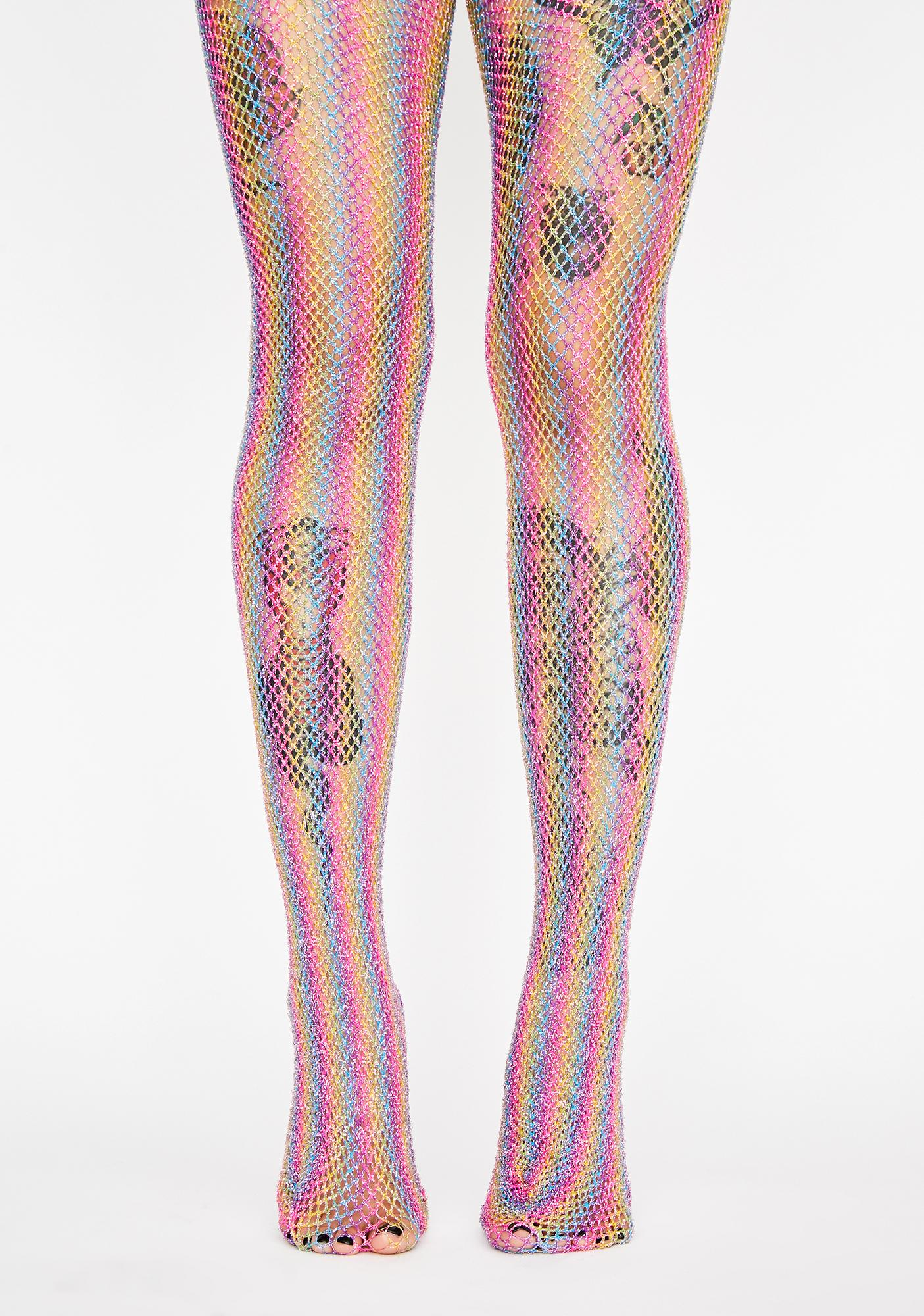 Now N' Later Fishnet Tights