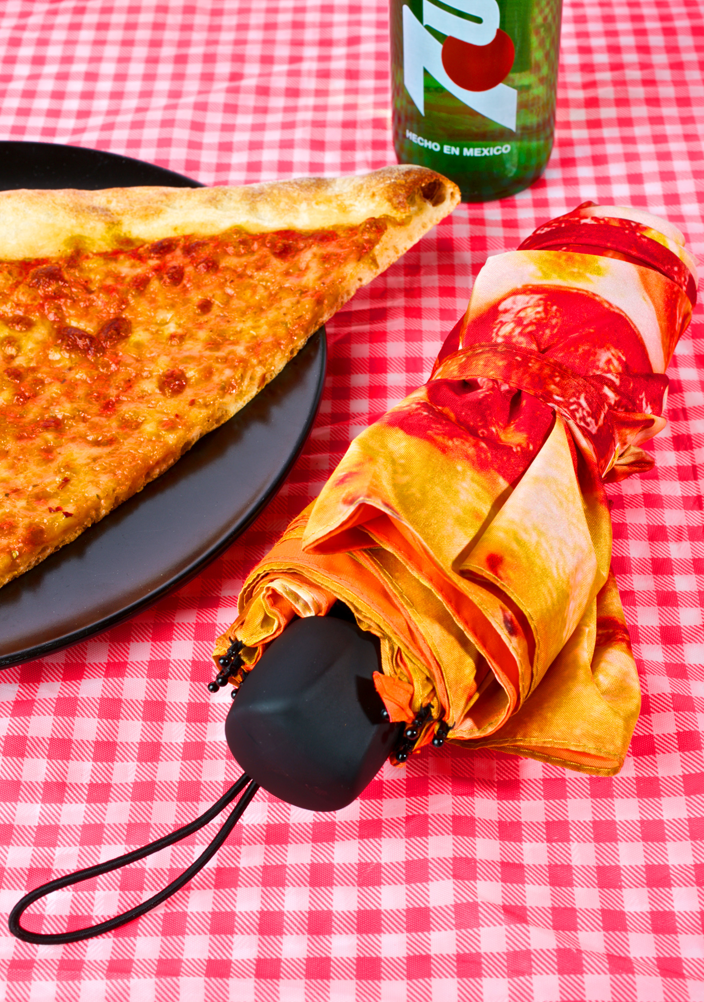 Outerspace Pizza Umbrella