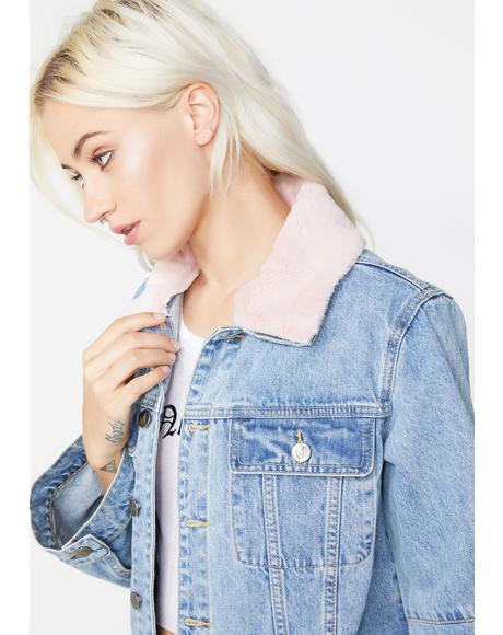Chloe Crop Denim Jacket