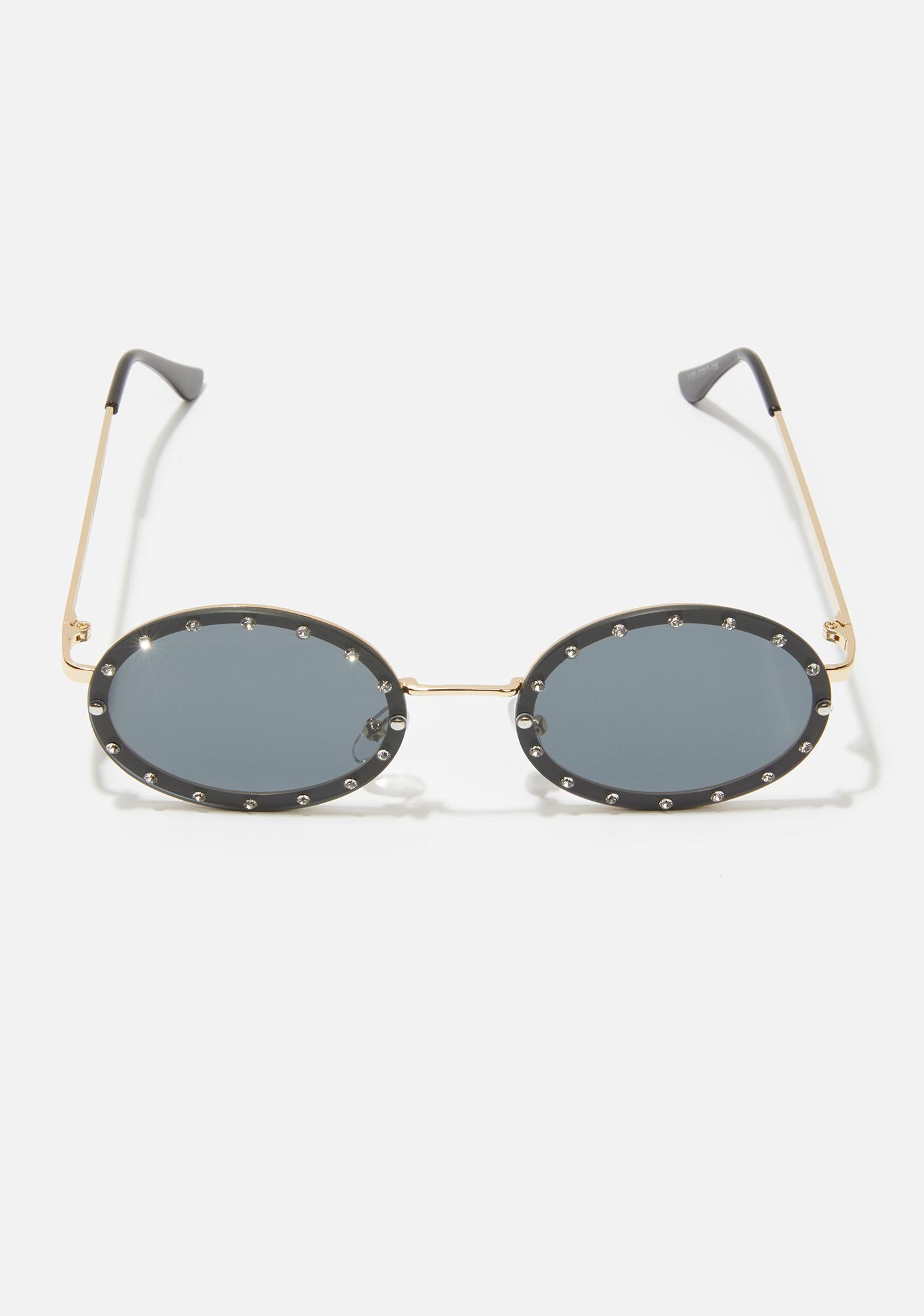 Mystic Hippie Heartbreak Oval Sunglasses
