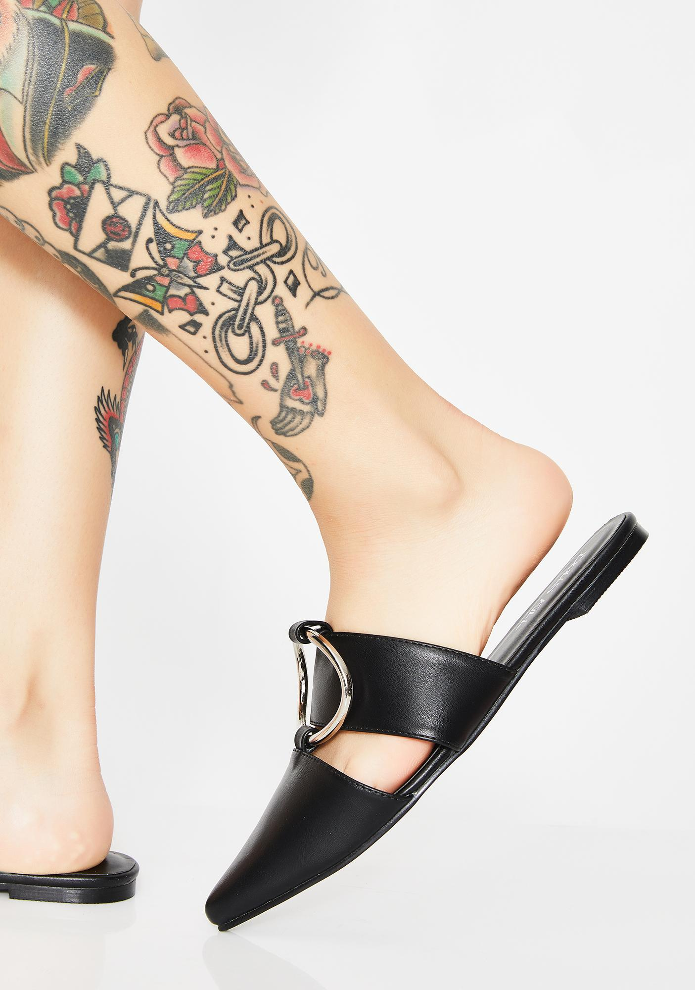 Slight Werk O-Ring Mules