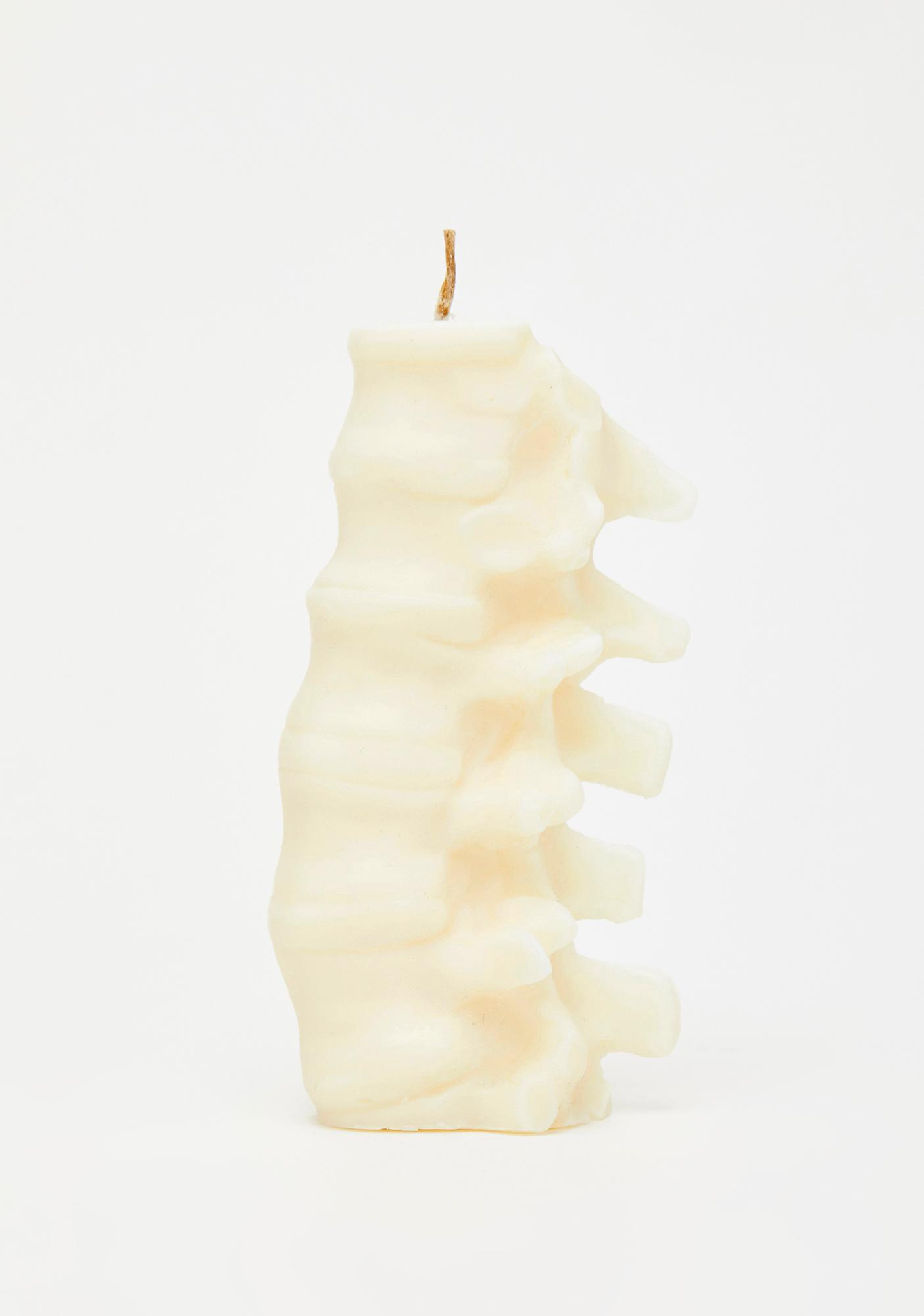 The Blackened Teeth Spine Soy Candle