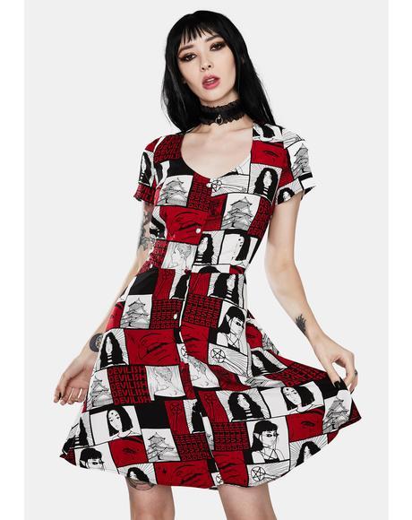 Devilish Mini Dress
