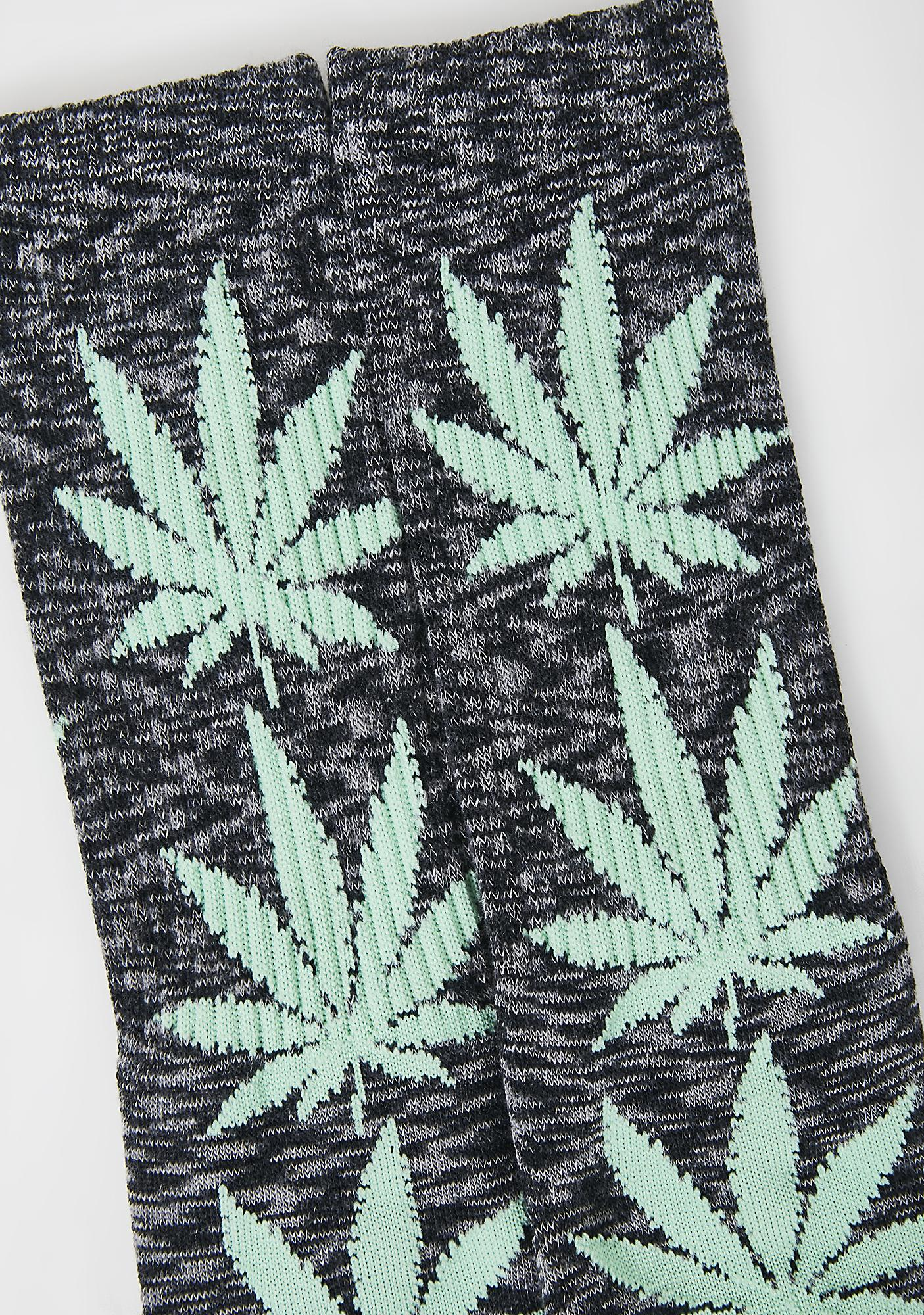 HUF Dark Melange Plantlife Socks