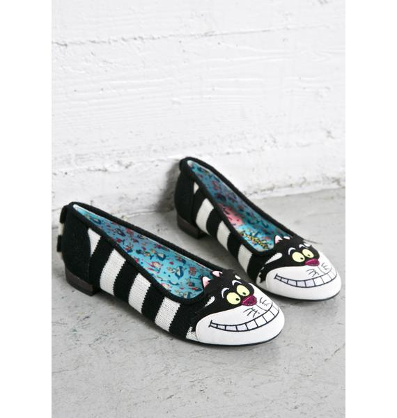 Irregular Choice Cheshire Flats