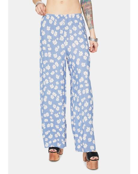 Happy With You Floral Pants