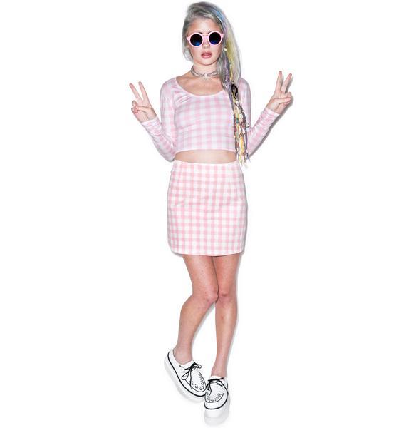 Motel Venus Annie A-Line Skirt