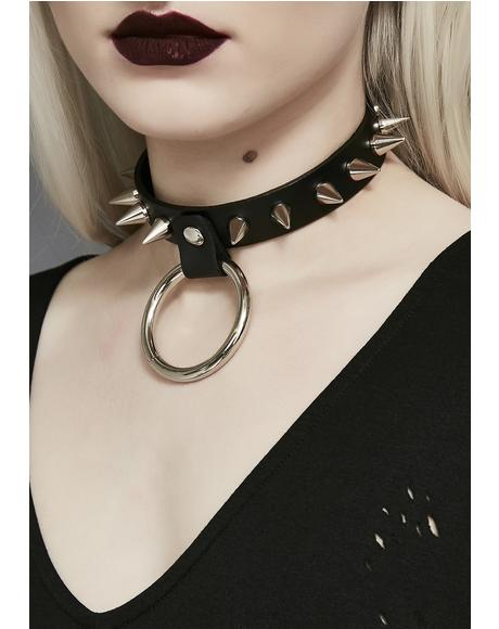 Love No More Spike O Choker
