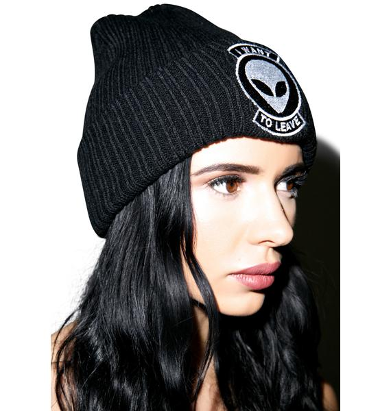 Disturbia Alienation Beanie