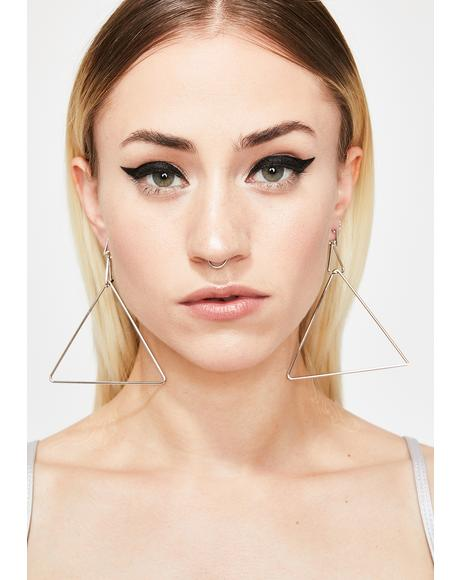 Ur Pointless Triangle Earrings